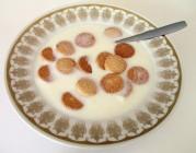 Kærnemælkskoldskål med kammerjunkere. Foto: Wikimedia Commons. (egne billeder kommer snart!)