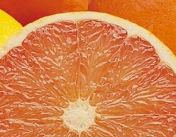 Rød grapefrugt