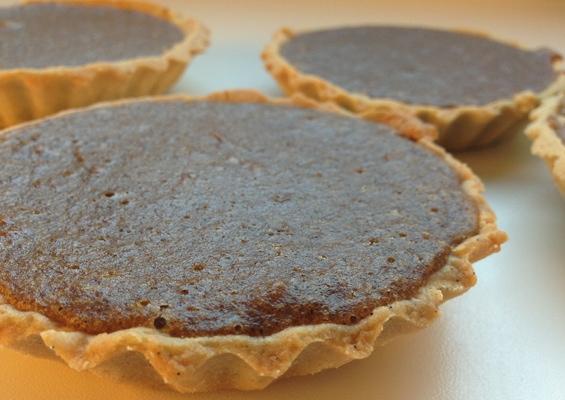 Denne opskrift er til 10 små tærter eller en stor tærte på 23cm