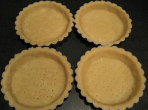 Sød mørdej - klar til ovnen og senere fyld